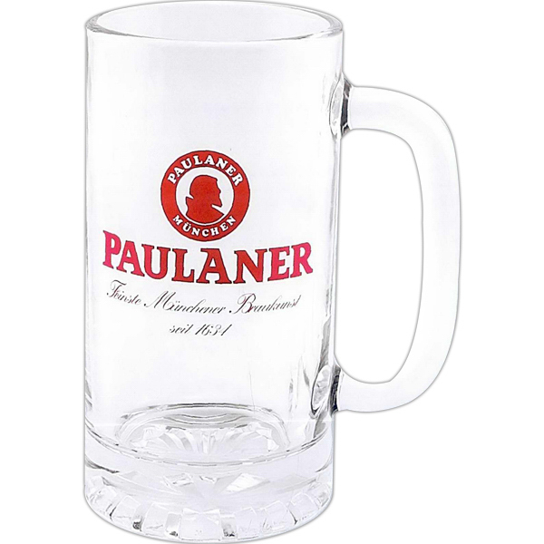 Printed Direct creen glass pub stein - 16 oz