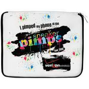 Printed Full color neoprene laptop bag/carrying case