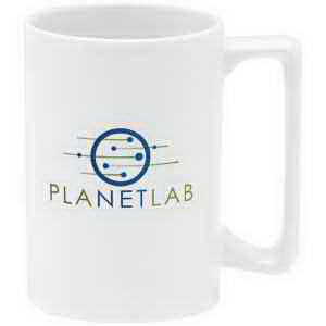 Printed Decal stoneware mug - 15 oz