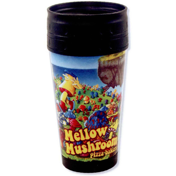 Printed Full color Axious travel tumbler - 16oz