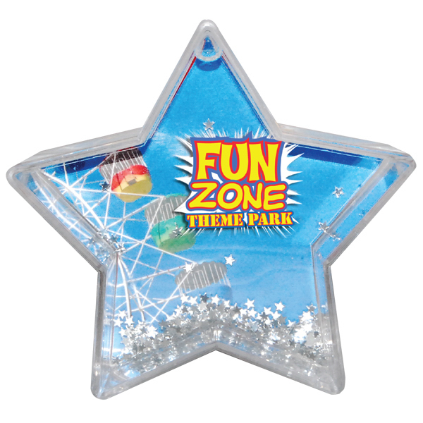 Personalized Full color star paper weight