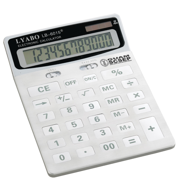 Imprinted Jumbo Desk Accessories Calculator