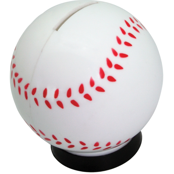 Printed Baseball Bank
