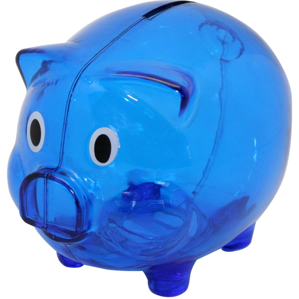Personalized Pig coin bank