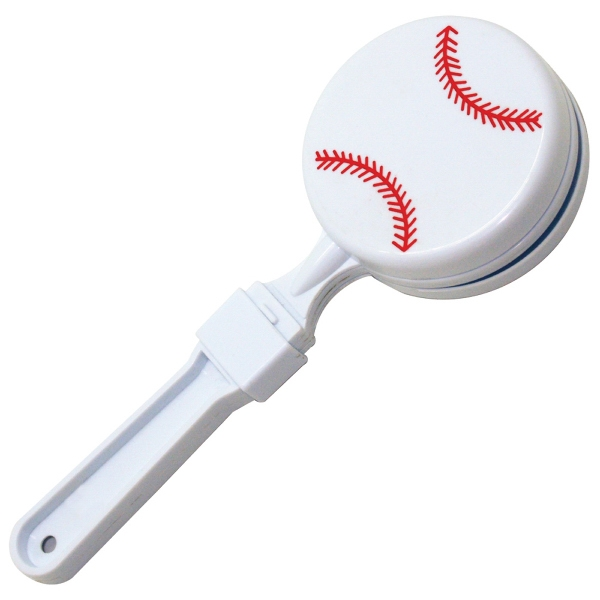 Promotional Baseball Clapper