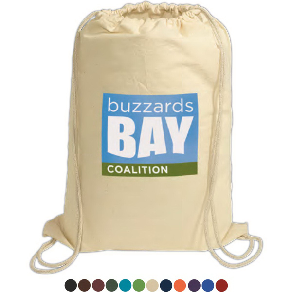 Printed Cotton String-A-Sling Backpack