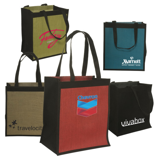 Promotional Jute Non-Woven Shopping Tote