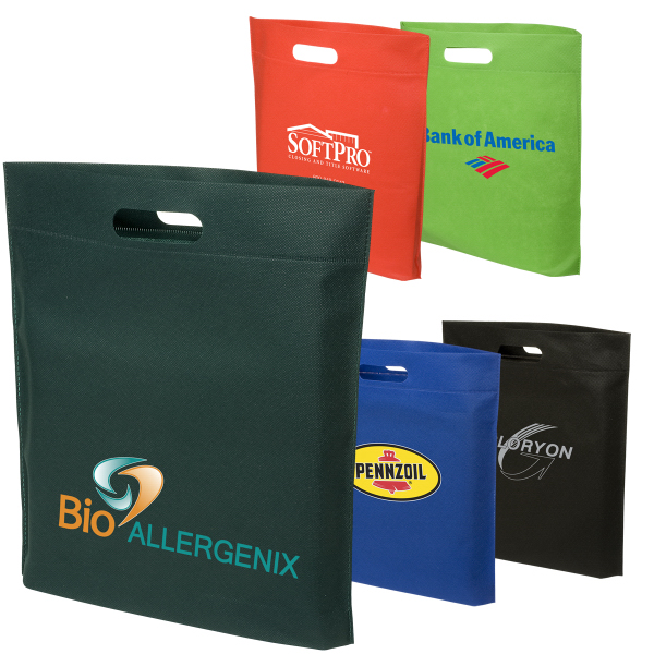 Personalized Hot-Sealed Shopping Bag - 80gsm