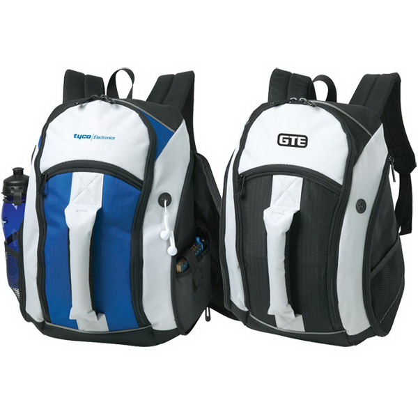 Imprinted Grip Backpack