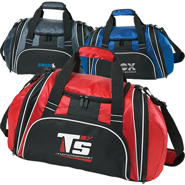 "Personalized Triumph 21"" Sports Duffel"