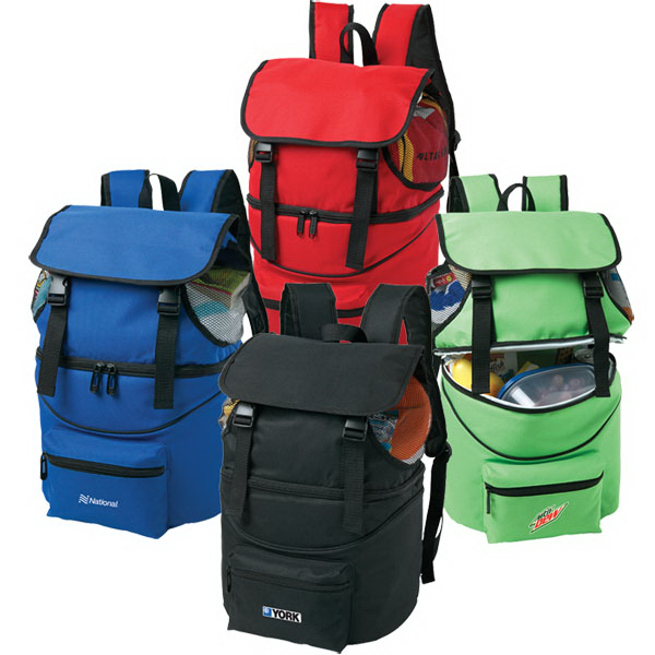 Imprinted Cooler Backpack