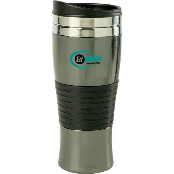 Customized 15 oz. Stance Black Chrome Tumbler