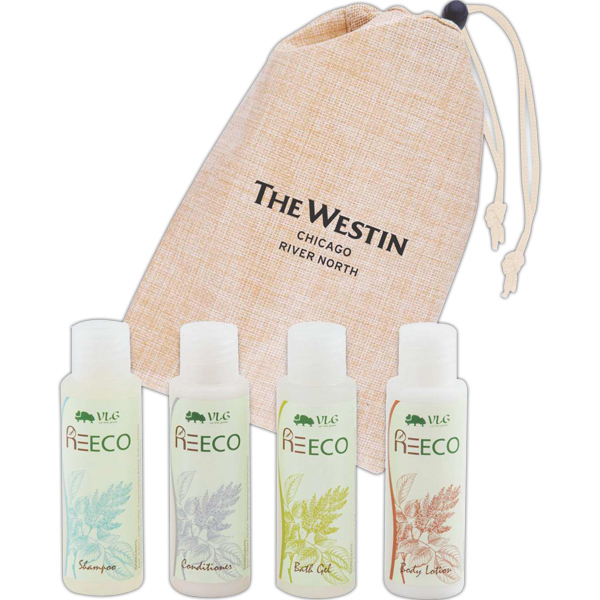 Printed Eco-Natural Amenity Kit