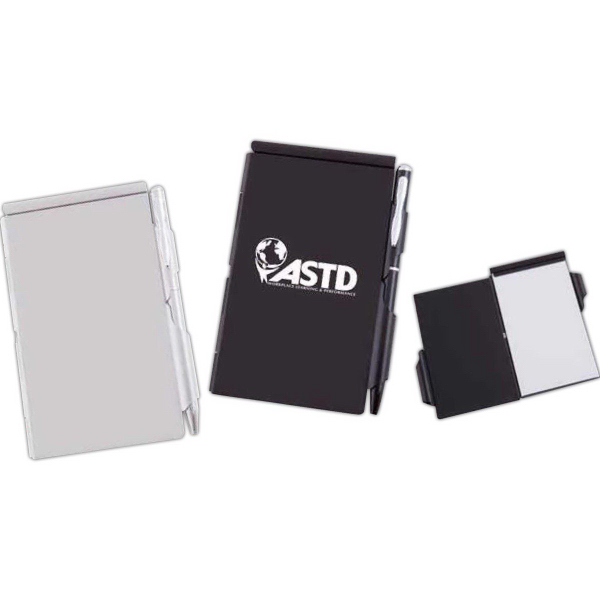Promotional Contempo Aluminum Notepad Set