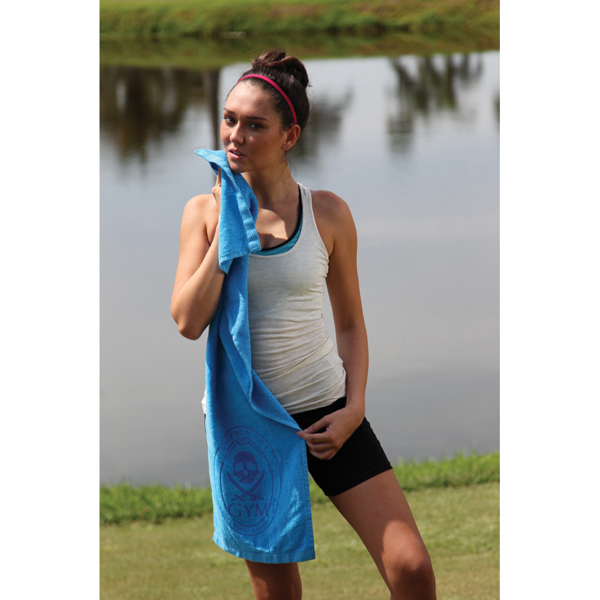Customized Fitness towel with CleenFreek (R)