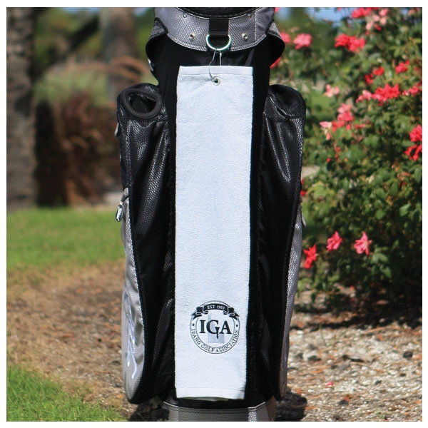 Personalized Diamond Collection Golf Towel