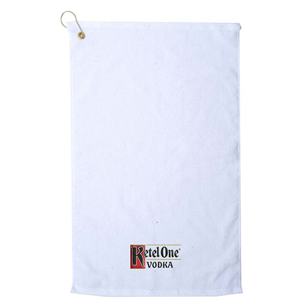 Custom Platinum Collection Golf Towel