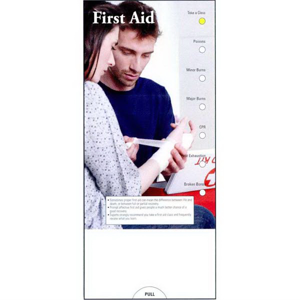 Customized First Aid Pocket Guide