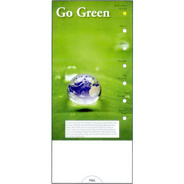Printed Go Green Guide