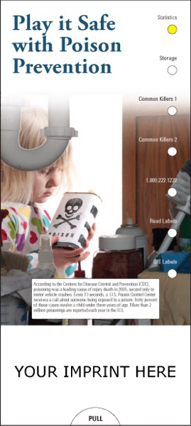Customized Play it Safe with Poison Prevention Guide