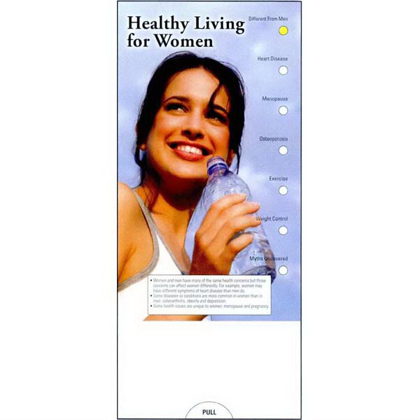 Printed Healthy Living for Women Guide