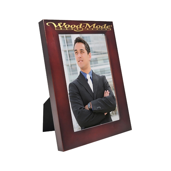 Imprinted Wood Picture Frame