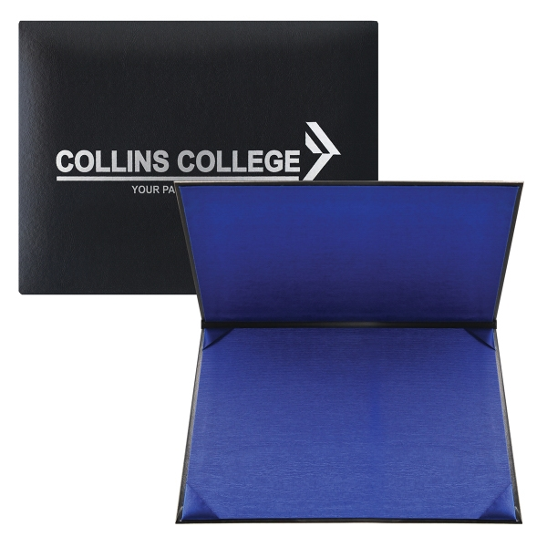 Personalized Double-Padded Certificate Holder w/Fabric Lining