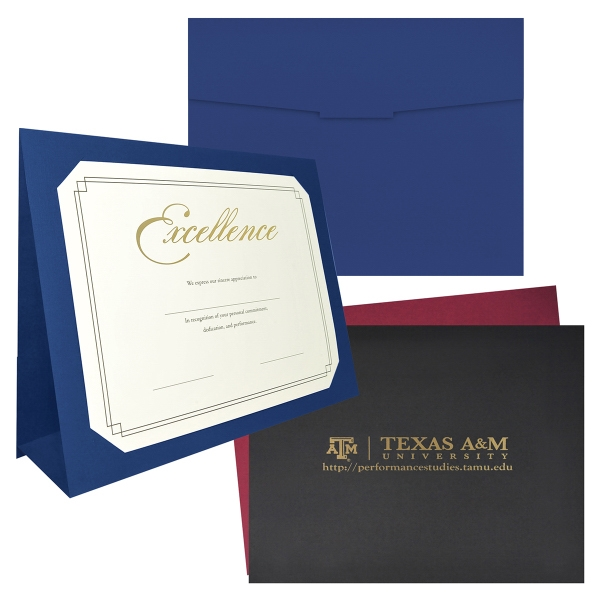Imprinted 3-Fold Presentation Folder