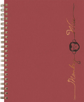 Imprinted Small Linen Journal (TM)