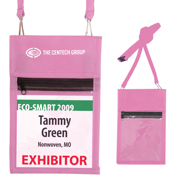 Custom Trade Show Badge Holder