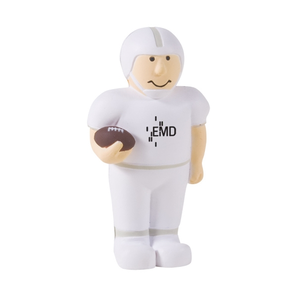 Promotional Football Player Stress Reliever