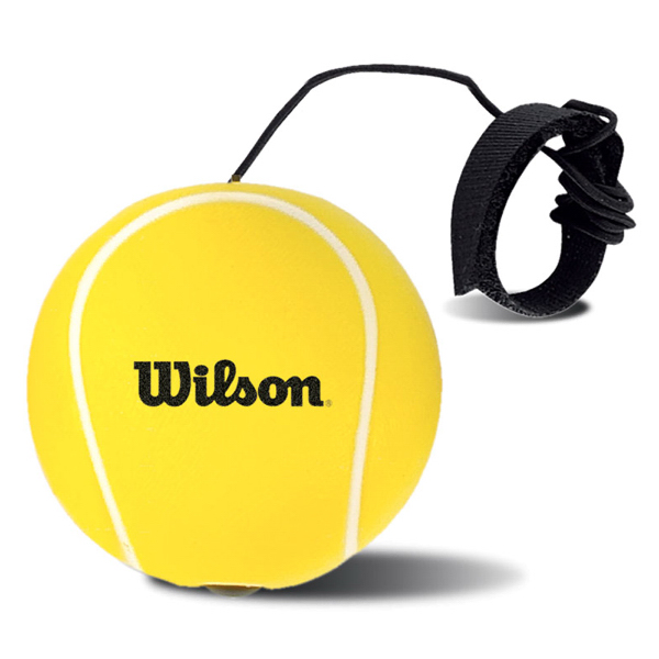 Printed Tennis Ball Bounce Back Stress Reliever