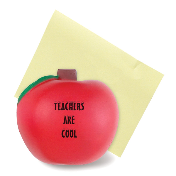 Printed Apple Stress Reliever Magnet