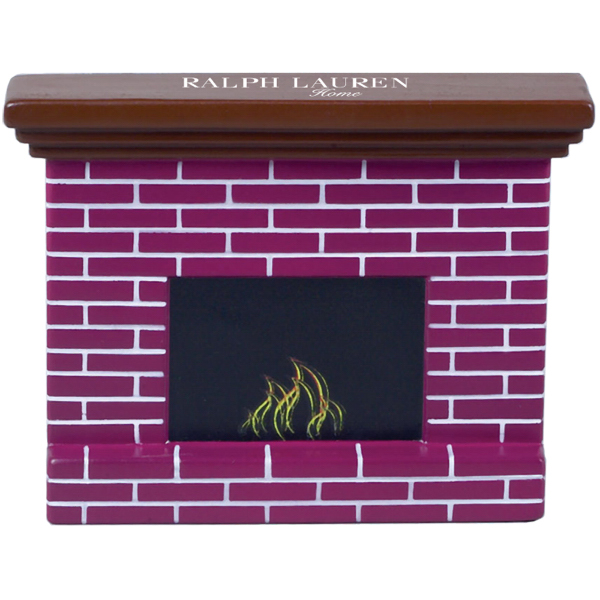 Printed Fireplace Stress Reliever
