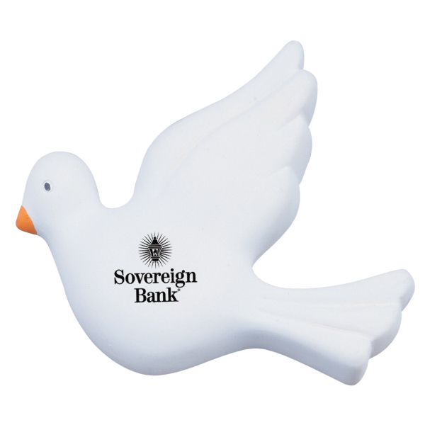 Printed Dove Stress Reliever