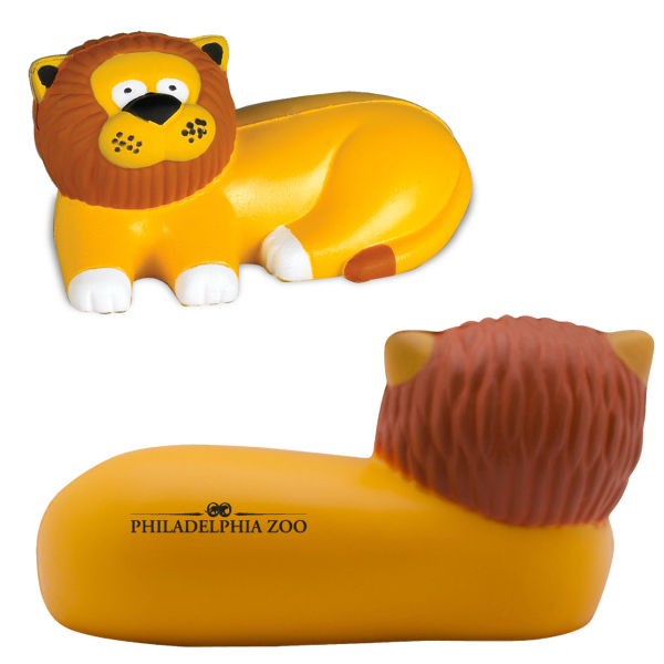 Customized Lion Stress Reliever