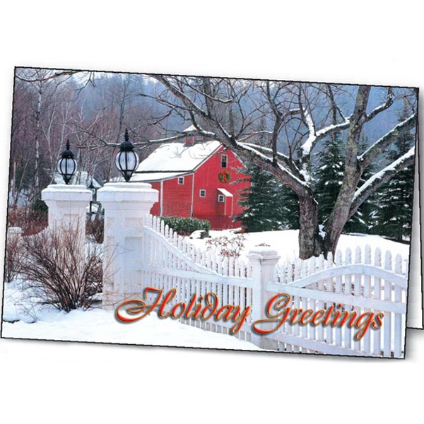 Printed Country Welcome greeting card