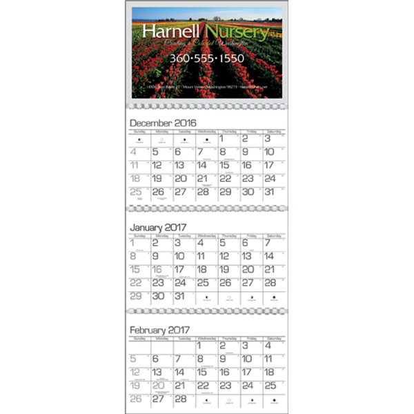 Personalized Quarterly Planner business calendar