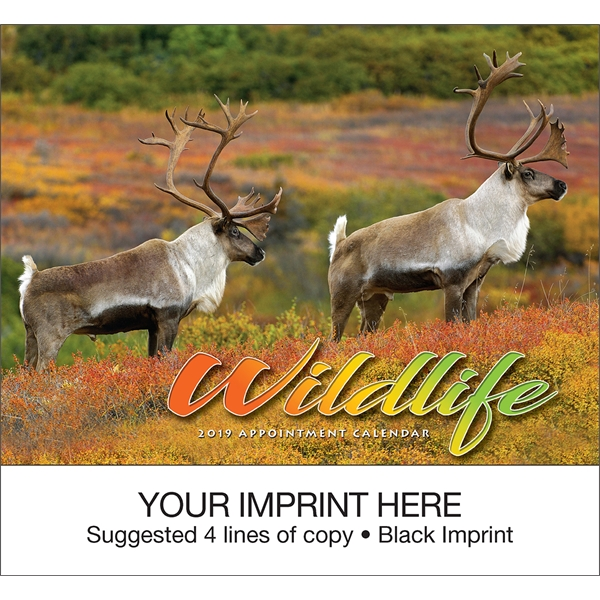 Personalized Wildlife appointment calendar