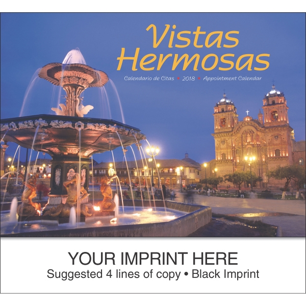 Custom Vistas Hermosas appointment calendar