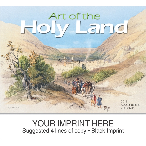 Promotional Art of the Holy Land Universal Version appointment calendar