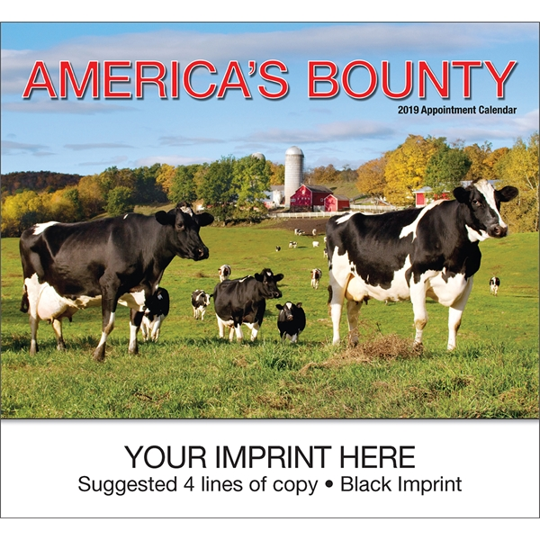 Personalized America's Bounty appointment calendar