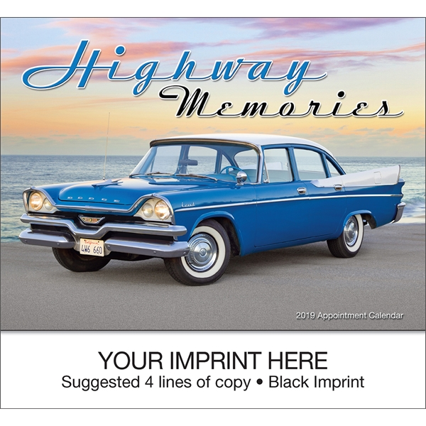 Printed Highway Memories appointment calendar