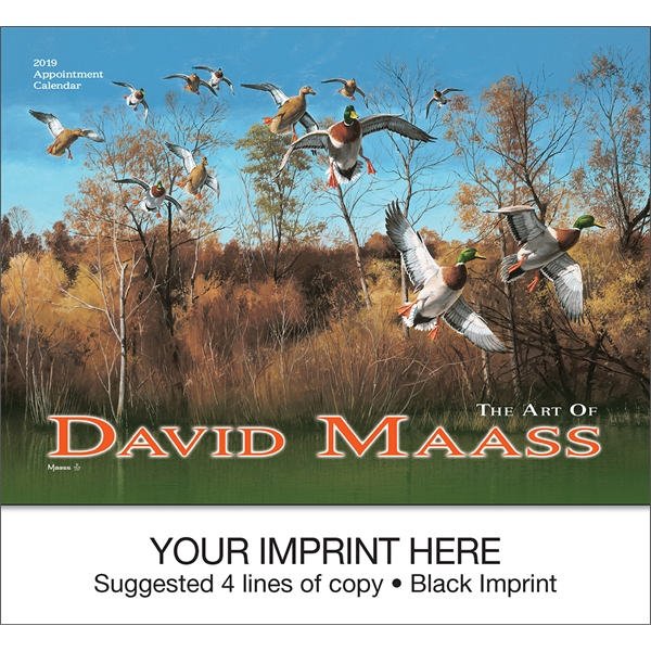 Customized David Maass appointment calendar