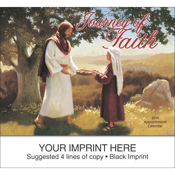 Personalized Journey of Faith Universal Version appointment calendar