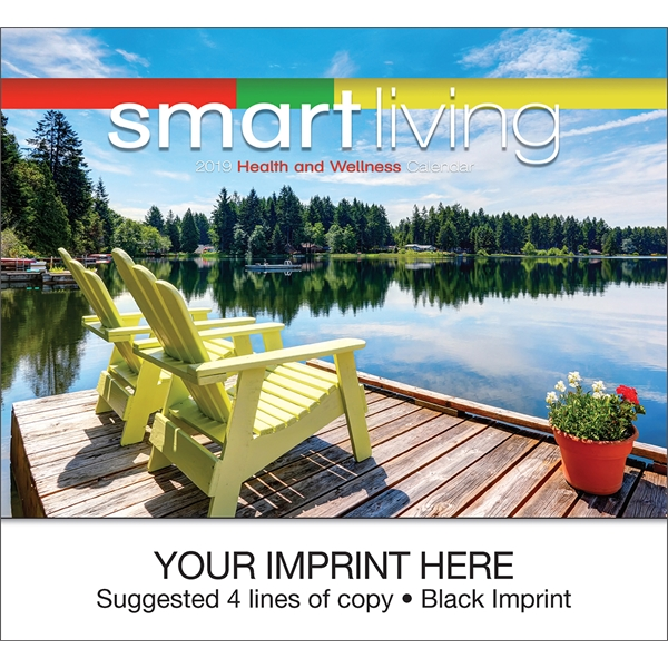 Printed Smart Living appointment calendar