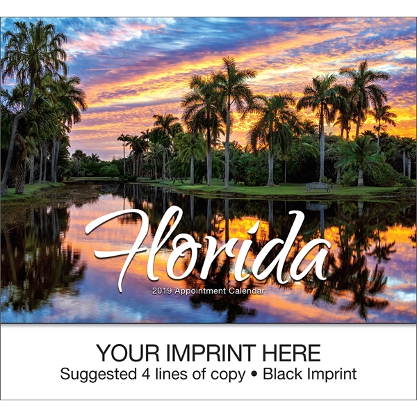 Printed Florida appointment calendar