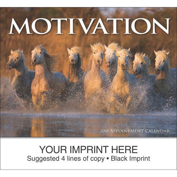 Customized Motivation appointment calendar