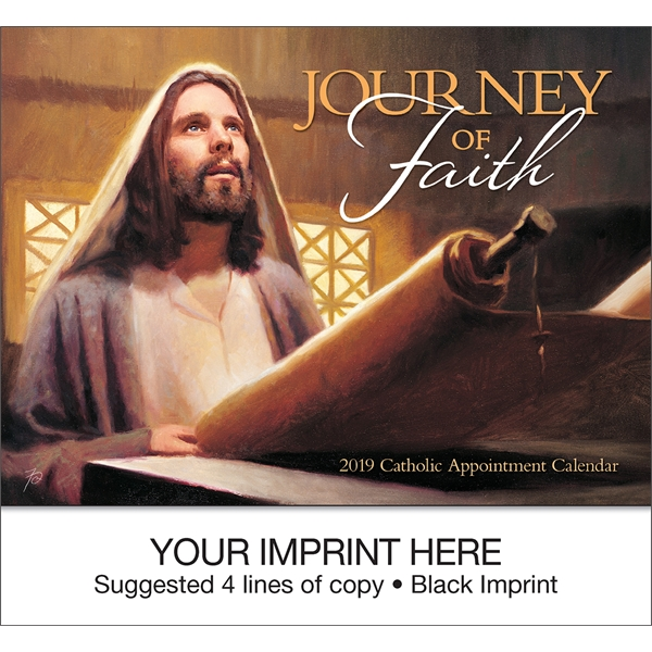 Customized Journey Of Faith Catholic Version appointment calendar
