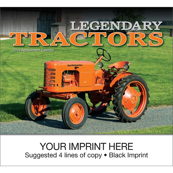 Promotional Legendary Tractors appointment calendar
